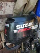 Suzuki. 6,00л.с., 4-тактный, бензиновый, нога S (381 мм), Год: 2007 год