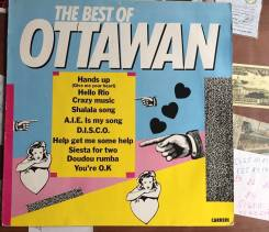 Винил Ottawan - The Best Of - 1981 – Carrere / Germany - EX+.