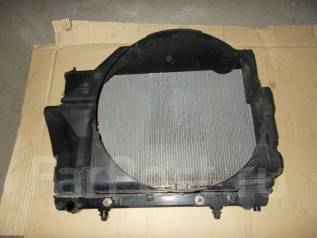 Радиатор охлаждения двигателя. Nissan Gloria, Y34, HY34, MY34 Nissan Cedric, Y34, MY34, HY34 Двигатели: VQ30DD, VQ30DET, VQ25DD