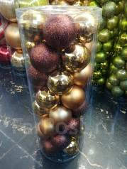 Елочные шары.
