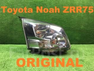 Фара. Toyota Voxy, ZRR70W, ZRR70, ZRR75, ZRR75W, ZRR70G, ZRR75G Toyota Noah, ZRR75G, ZRR70, ZRR70W, ZRR75W, ZRR75, ZRR70G Двигатели: 3ZRFAE, 3ZRFE