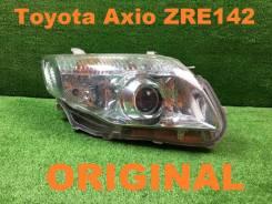 Фара. Toyota Corolla Axio, ZRE144, ZRE142, NZE141, NZE144 Toyota Corolla Fielder, NZE141, ZRE144, NZE144, ZRE142 Двигатели: 1NZFE, 2ZRFE