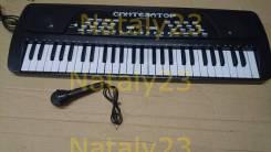 Синтезатор с микрофоном от сети SD989-A