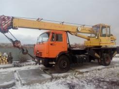 Ивановец КС-3577. Автокран Камаз 16 тонн, 6 700 куб. см., 16 000 кг., 14 м.