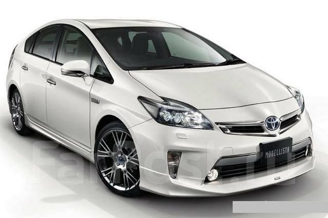 Порог пластиковый. Toyota Prius, ZVW30, ZVW30L, ZVW35