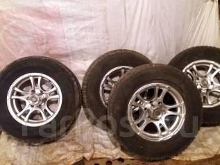 Колеса Dunlop на литых дисках для Террано2. 7.0x16 6x139.70