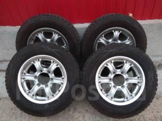 Комплект зимних японских колес Dunlop Winter MAXX 215/65 R15 на WEDS. 6.5x15 6x139.70 ET26 ЦО 110,0мм.