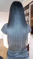 Микрокапсульное наращивание волос и кератиновое выпрямление