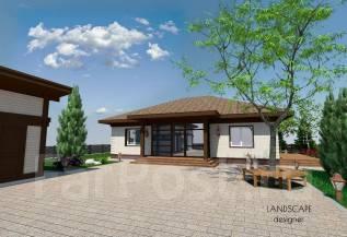 Ландшафтный дизайн. Проект. Благоустройство во Владивостоке