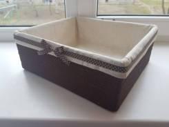 Коробки, корзинки ручной работы (интерьер, декор)