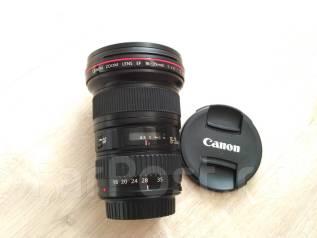 Продам объектив Canon EF 16-35 mm f 2,8 L USM. Для Canon, диаметр фильтра 82 мм