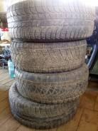 Bridgestone B250. Зимние, без шипов, 2015 год, износ: 60%, 4 шт