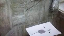Укладка плитки. Ремонт ванной комнаты. Установка потолка