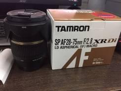 Объектив Tamron AF SP 28-75mm f/2.8 XR Di LD Aspherical IF (Sony A). Для Sony A, Minolta A