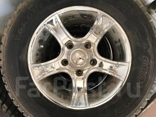 Комплект шин с литьем на TLC 200. x18