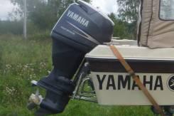 Yamaha. 90,00л.с., 4-тактный, бензиновый, нога L (508 мм), Год: 2011 год