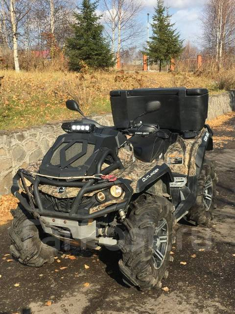 BRP Can-Am Outlander 1000R X MR. исправен, есть птс, с пробегом