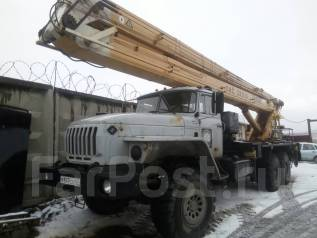 Урал 4320. АГП ПМС 328-01 на Урале 4320, 11 850 куб. см., 28 м.