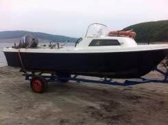 Yamaha Fish 17. длина 5,20м., двигатель подвесной, 50,00л.с., бензин