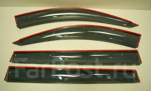 Ветровики (дефлекторы боковых окон) Mitsubishi Pajero Sport