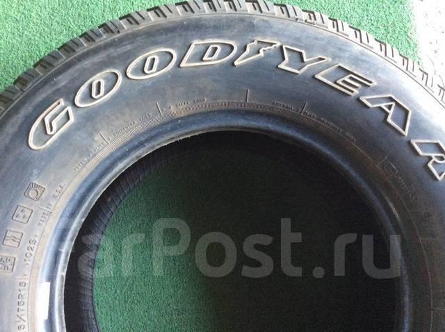 Goodyear Wrangler. Всесезонные, 2005 год, износ: 10%, 4 шт