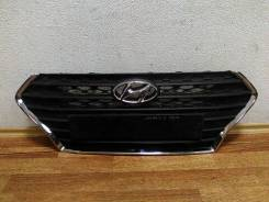 Решетка радиатора. Hyundai Solaris, RB Двигатель G4FC