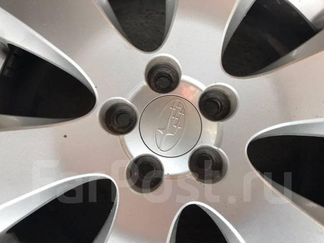 225/60R17 Yokohama на литье Subaru. (Н01). 7.0x17 5x100.00 ET48 ЦО 55,0мм.