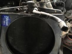 Радиатор охлаждения двигателя. Краз