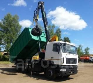 Майман-110S. КМУ Ломовоз МАЗ-6312В5-8429-012, кузов 28 куб., , 100 куб. см., 7 000 кг.