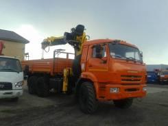 Soosan SCS866LS. Автомобиль Камаз-43118-3027-46 с КМУ Top + бур 400мм., 11 700 куб. см., 12 000 кг.