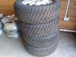 Продам зимние шины 215/60-15 Dunlop Graspis, на литье 114,3х5. 6.0x15 5x114.30 ET45 ЦО 71,1мм.