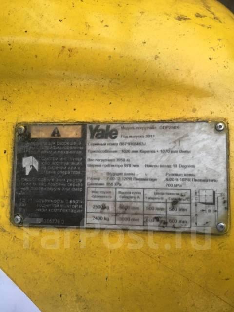 Yale GDP 25 RK. Погрузчик YALE GDP25RK, 2 500 кг.