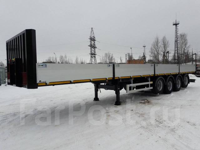 Steelbear. Полуприцеп бортовой 4-осный TR-41 , 45 000кг. Под заказ