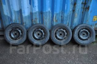 Колеса Carina-E 185/65R14. 5.5x14 5x100.00 ET45 ЦО 54,1мм.