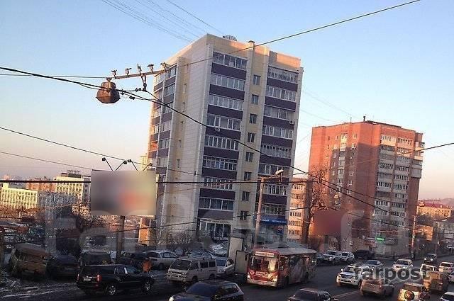1-комнатная, проспект Партизанский 28а. Центр, 29 кв.м. Вид из окна днем
