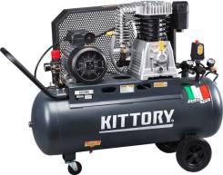 Компрессор воздушный Kittory KAC-100/80S.600 л/мин. Гарантия.
