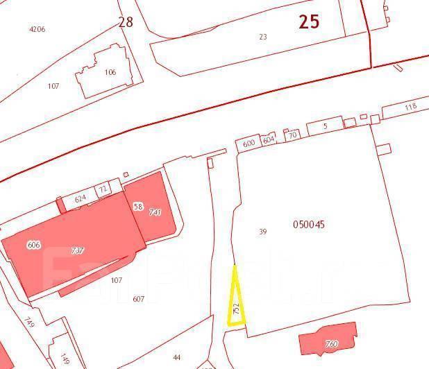 Земельный участок под Ваш павильон — 200 м2 . Высокий трафик. Схема участка