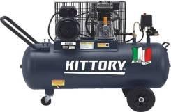 Компрессор воздушный Kittory KAC-200/90S3. 700 л/м.