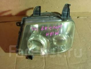 Фара. Mitsubishi eK-Sport, H81W Mitsubishi eK-Wagon, H81W Mitsubishi eK-Active, H81W Mitsubishi eK-Classic, H81W