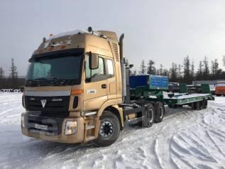 Foton. Продам седельный тягач + Трал, 9 726 куб. см., 50 000 кг.