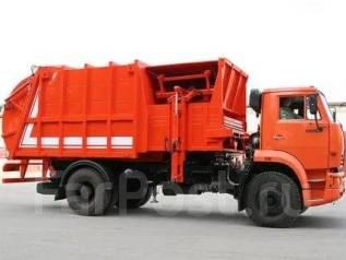 Рарз МКМ-4605. Мусоровоз с задней загрузкой МКМ-4605 (РАРЗ) на шасси Камаз-53605, 280куб. см.