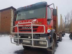 Iveco Trakker. Сортиментовоз Iveco, 12 880 куб. см., 38 500 кг.