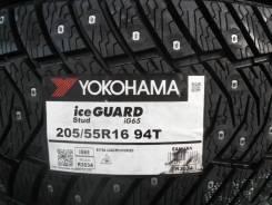 Yokohama Ice Guard IG65. Зимние, шипованные, 2017 год, без износа, 4 шт