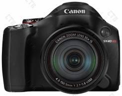 Canon PowerShot SX40. 20 и более Мп, зум: 14х и более