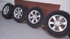 Продам комплект зимних шин на литье. 7.5x17 6x139.70 ET30