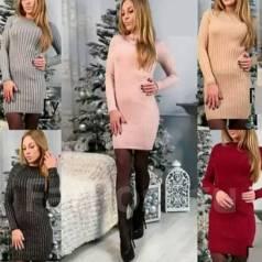 Платья-свитеры. 40, 42, 44
