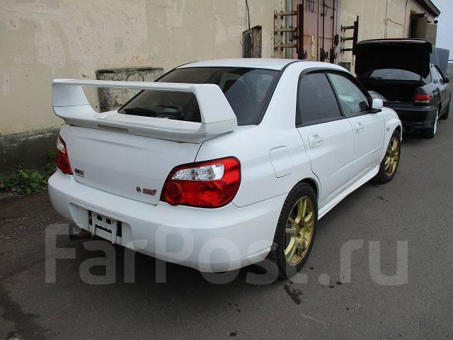 Спойлер. Subaru Impreza WRX STI, GD, GDB Subaru Impreza, GD, GD2, GD3, GD4, GD9, GDA, GDB, GDC, GDD Двигатели: EJ20, EJ207, EJ22, EJ25, EJ257, FJ20, E...