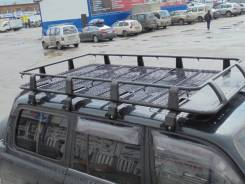 Багажники-корзины. Nissan Patrol Toyota Land Cruiser, FJ80, FJ80G, FZJ80, FZJ80G, FZJ80J, HDJ80, HZJ80, J80