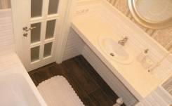 Отделка ванных комнат. Укладка кафеля, мрамора, мозаики.