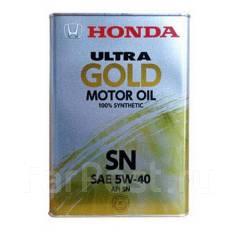Honda Ultra Gold. Вязкость 5W-40, синтетическое